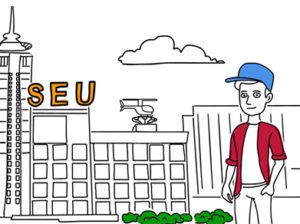 Дудл видео о Национальном Грузинском Университете SEU (от студии Artex Motion)