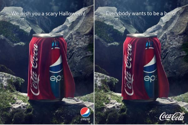 реклама пепси кока-кола